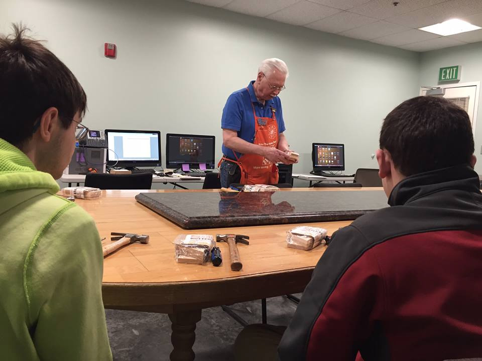Forum School Students At Home Depot For Community Based Instruction